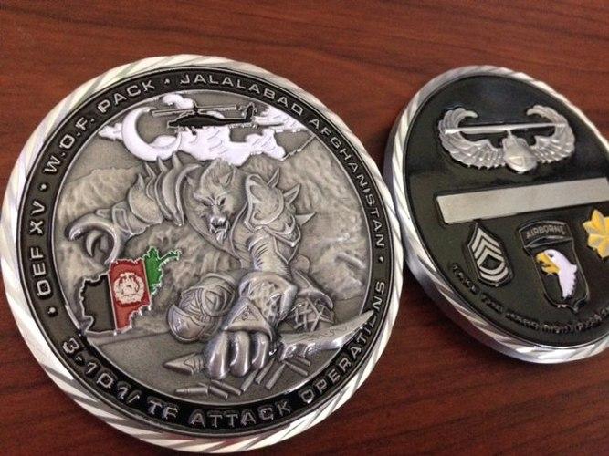 Custom Army Challenge Coins   Army Coins   Military Coins - U S  DOD