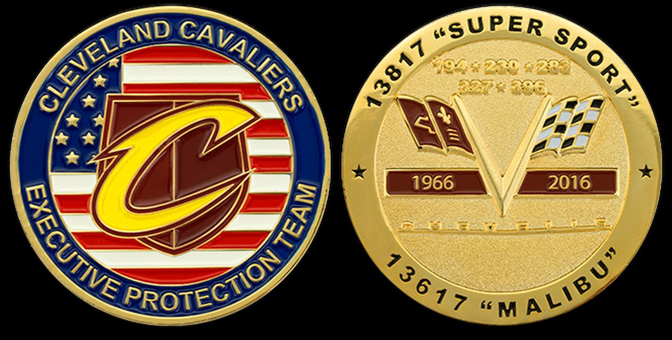 Custom Corporate Challenge Coins - U S  DOD Coins