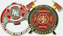 Firefighter Coins