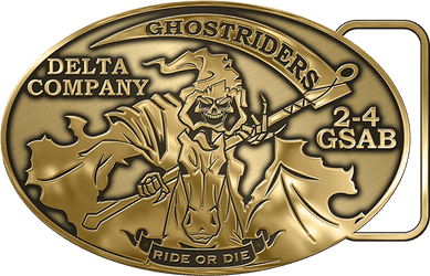 Ghostriders Belt Buckle Proof