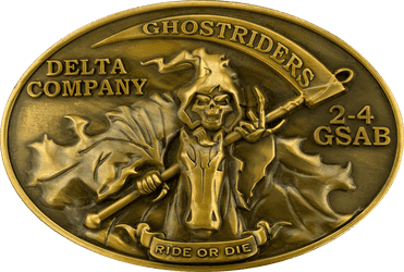 Ghostriders Belt Buckle Final